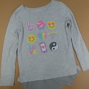 Fun Children's Place Long Sleeve Shirt Size 14